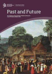 Past and Future - Institute of Historical Research