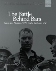The Battle Behind Bars - Naval History and Heritage Command ...