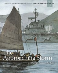 The Approaching Storm - Naval History and Heritage Command ...