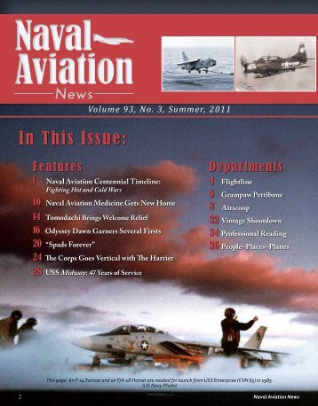 In This Issue: - Naval History and Heritage Command - U.S. Navy