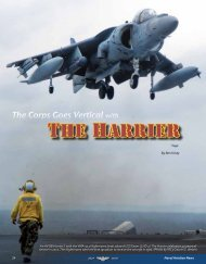 The harrier - Naval History and Heritage Command
