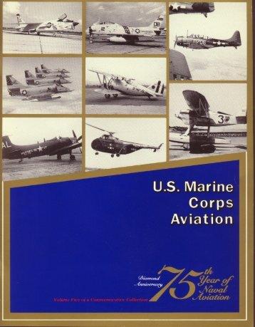 U.S. Marine Corps Aviation - Naval History and Heritage Command