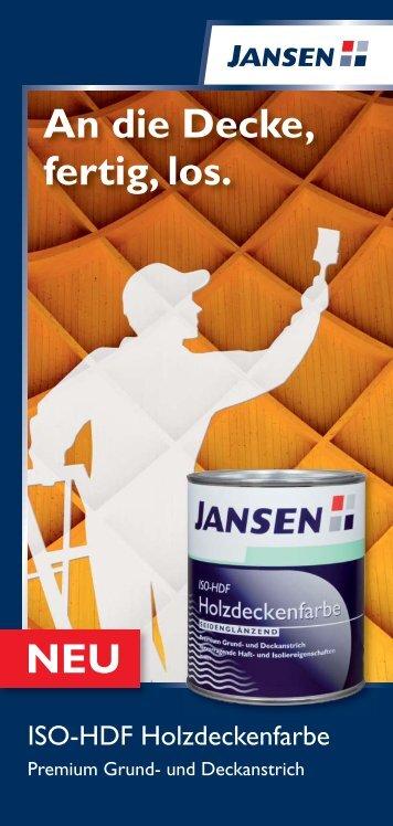 Jansen ISO-HDF Holzdeckenfarbe