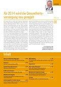 Neuregelung der Gesundheitsversorgung ab 2014 - Ärztekammer ... - Seite 3