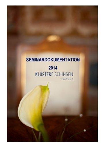 Seminardokumentation - Nov. 13 - Kloster Fischingen