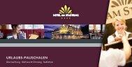 URLAUBS-PAUSCHALEN - Hotel am Stadtring