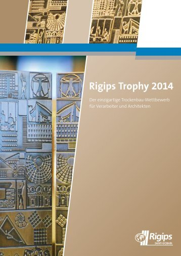 Rigips Trophy 2014 - Ausschreibung