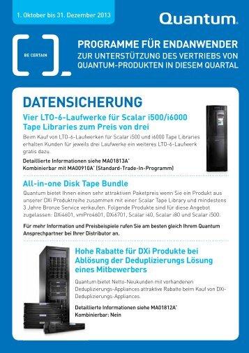 DATENSicHERuNG - Arrow ECS GmbH