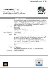 Technische Information Nr. 196 - Caparol