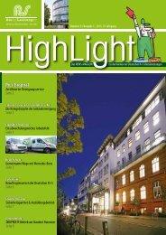 HighLight - Nummer 31 - 01/2013 - Deutsche R+S Dienstleistungen
