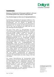 Blomberger Holzindustrie B. Hausmann GmbH & Co. KG ... - Delignit