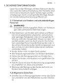 L 73477 FL DE Benutzerinformation - Electrolux-ui.com - Page 3