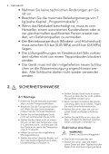 L 73477 FL DE Benutzerinformation - Electrolux-ui.com - Page 4