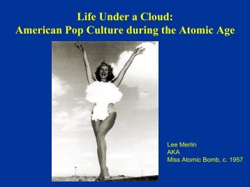 Life Under a Cloud - UCSB Department of History