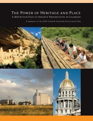 The Power of Heritage and Place - History Colorado