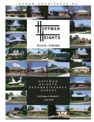 Aurora Hoffman Heights Reconnaissance Survey - History Colorado