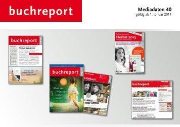 Download der gesamten Mediadaten für 2014 - Buchreport