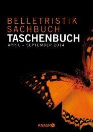 Taschenbuch Frühjahr 2014 - Verlagsgruppe Droemer Knaur