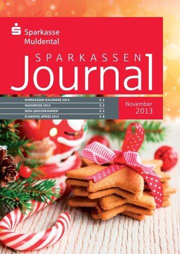 Ausgabe November 2013 - Sparkasse Muldental