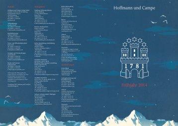 Vorschau als PDF herunterladen - Hoffmann und Campe Verlag