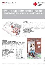 Unsere neuen Verlagsprodukte für den Bevölkerungsschutz und ...