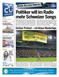 Politiker will im Radio mehr Schweizer Songs - 20 Minuten