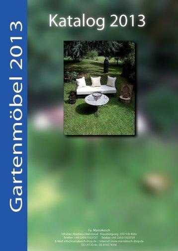 Katalog Marrakesch 2013