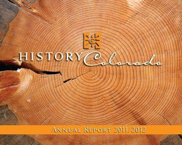 Annual Report 2011/2012 - History Colorado