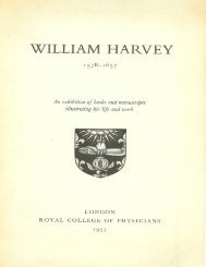 William Harvey 1578-1657: An Exhibition Of Books and Manuscripts ...