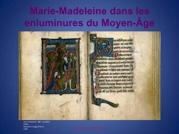 Marie-Madeleine dans les enluminures du Moyen-Âge