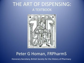THE ART OF DISPENSING THE CHEMIST AND DRUGGIST 28 ...