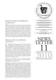Newsletter 11, 2010 - International Society for the History of Pharmacy