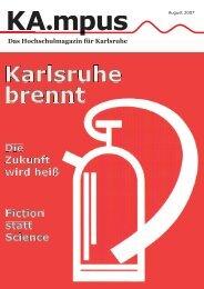 Das Hochschulmagazin für Karlsruhe - HIT-Karlsruhe