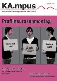 Profilneurosenmontag - HIT-Karlsruhe