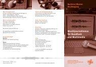 Musikjournalismus für Rundfunk und Multimedia - HIT-Karlsruhe