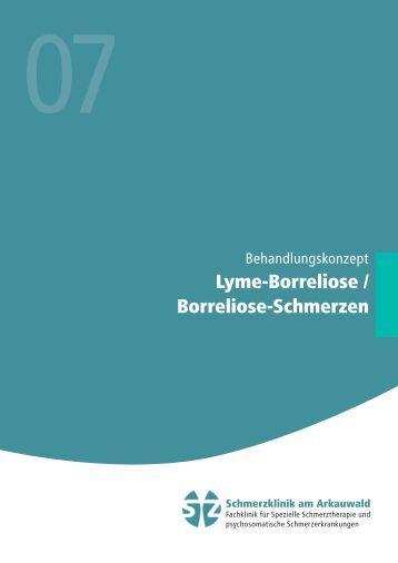 Lyme-Borreliose - Schmerzklinik am Arkauwald