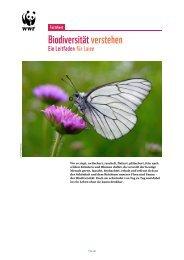 Biodiversität verstehen - WWF Schweiz