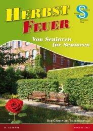 Der Garten als Therapieraum - Seniorenstiftung Prenzlauer Berg