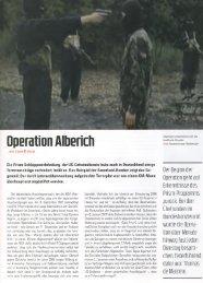 Geheimdienste, CIA, BND, Operation Alberich ... - Deutschelobby