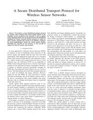 A Secure Distributed Transport Protocol for Wireless Sensor Networks