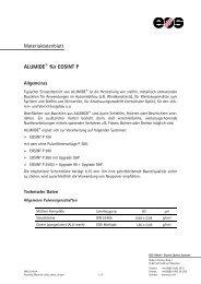 Materialdatenblatt ALUMIDE® für EOSINT P