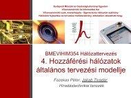 Hozzáférési hálózatok tervezése - BME Hálózati Rendszerek és ...