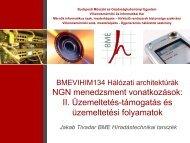 OSS - BME Hálózati Rendszerek és Szolgáltatások Tanszék ...