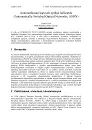 full paper - BME Hálózati Rendszerek és Szolgáltatások Tanszék