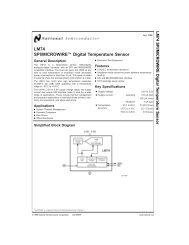 LM74 SPI/ MICROWIRE Digital Temperature Sensor