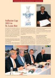 Solheim Cup 2015 in St.Leon-Rot - Golfverband Berlin-Brandenburg ...