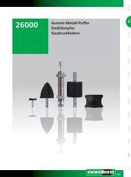 Gummi-Metall-Puffer Stoßdämpfer Gasdruckfedern