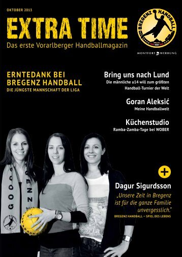 ExtraTime Oktober 2013 downloaden - Bregenz Handball