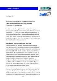 Diese Presse Information zum Herunterladen (PDF, 0.1 MB) - traffiQ