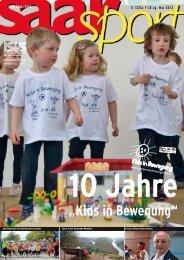 """""""Kids in Bewegung"""" - Landessportverband für das Saarland"""
